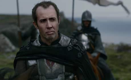 Nicolas Cage as Stannis Baratheon