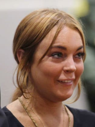 Lohan in Courtroom