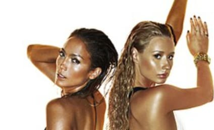 "Iggy Azalea and Jennifer Lopez Show Off Impressive Rear Ends in New ""Booty"" Cover Photo"