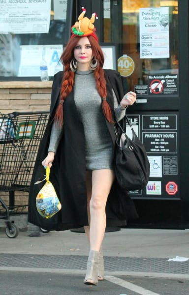 Phoebe Price Is Ready For Thanksgiving