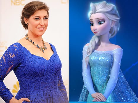 Mayim Bialik On Frozen I Hate That Movie The Hollywood