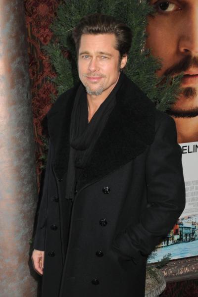 Pitt at a Premiere