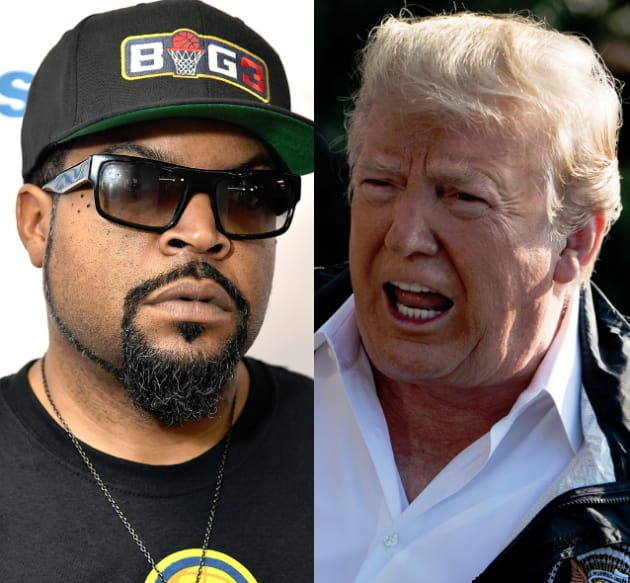 """Ice Cube Taunts Donald Trump With New Track """"Arrest The"""