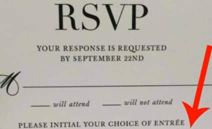 Couple Asks Wedding Guests If They Want to Eat a Child