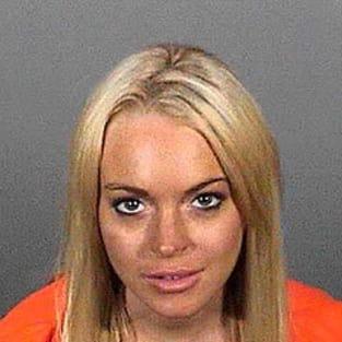Lindsay Lohan Mug Shot 2010