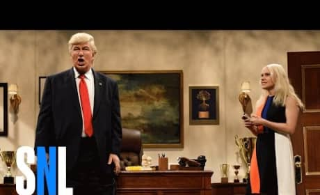 Donald Trump is Overwhelmed on Saturday Night Live