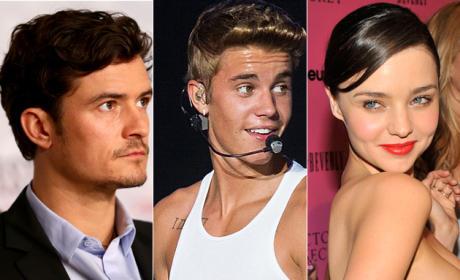Justin Bieber or Orlando Bloom: Sides Taken!