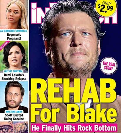 Blake Shelton Rehab Cover