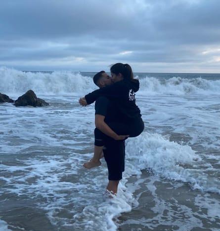Jorge Nava Picks Up Mystery Woman