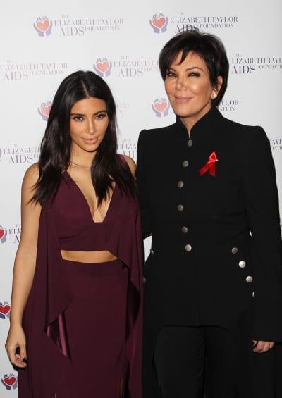 Kim Kardashian & Kris Jenner Image