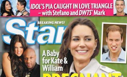Kate Middleton Pregnant, Tabloid Somehow Claims