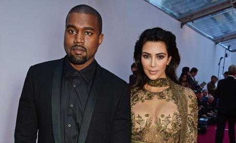 Kim Kardashian and Kanye West Head Out