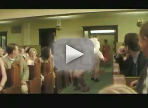 Dancing Down the Aisle Wedding Entrance Video
