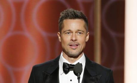 Brad Pitt Rocks a Tux