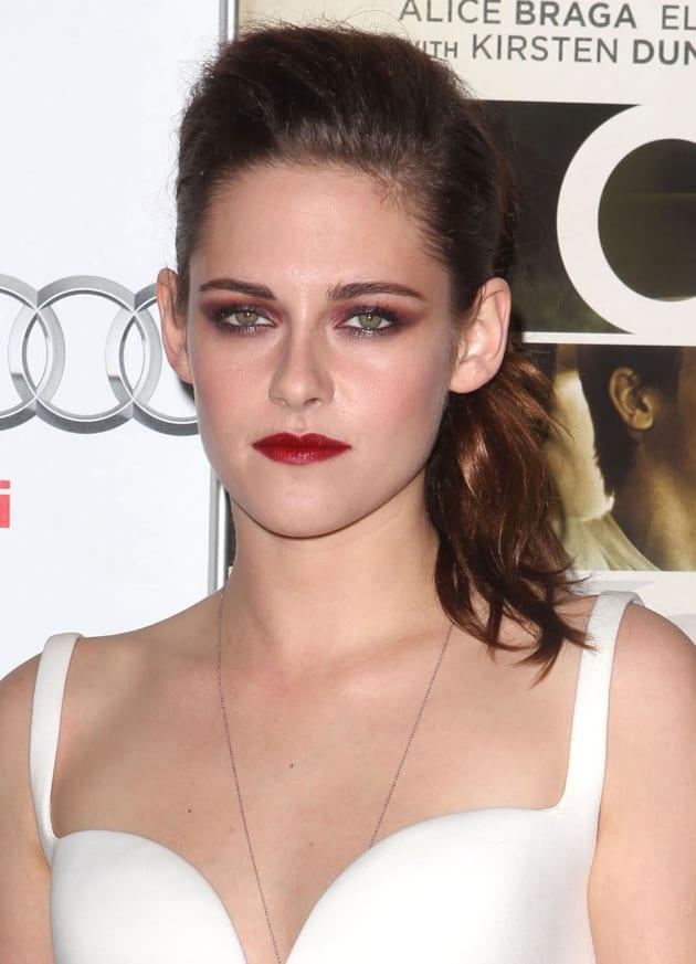 Kristen Stewart Gets Serious