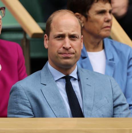 Prince William at Wimbledon