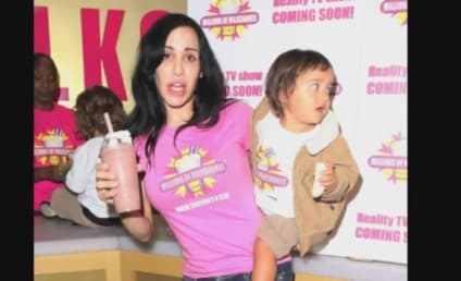 Octomom Anti-Baby Rant: Caught on Tape!