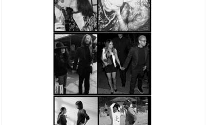 Karrueche Tran Posts Chris Brown Photo Collage, Likens Couple to John Lennon & Yoko Ono