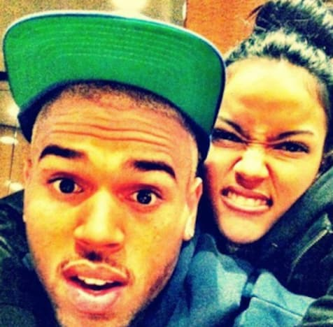 Chris Brown, Karrueche Picture