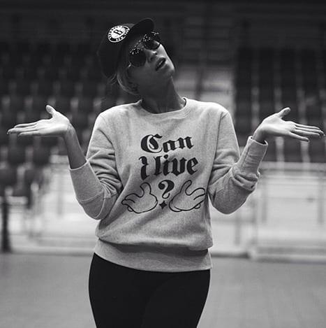 Beyonce Twit Pic