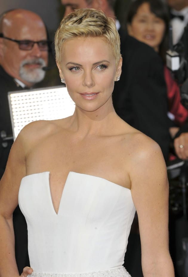 Charlize Theron Oscars Dress
