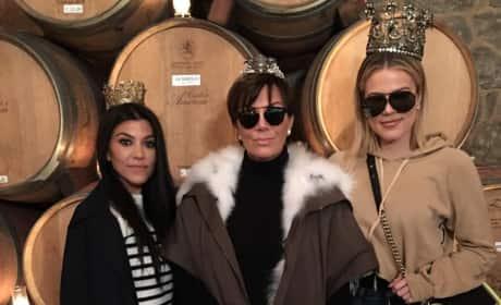 Kris Jenner: Drunk in Napa
