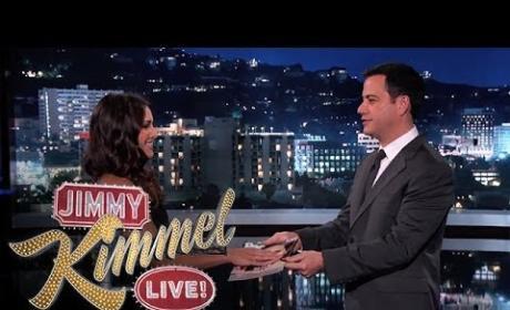 Andi Dorfman on Jimmy Kimmel Live - Sworn In