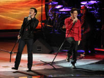 Kris Allen and Danny Gokey