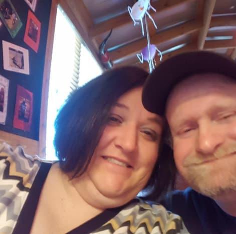 Sugar Bear and fiancee Jennifer Lamb
