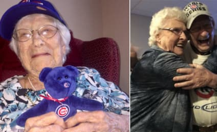 108-Year Old Cubs Fan Celebrates World Series Title