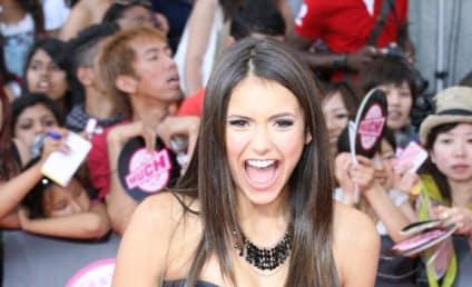 CW Stars Face-Off on Red Carpet: Nina Dobrev vs. Shenae Grimes
