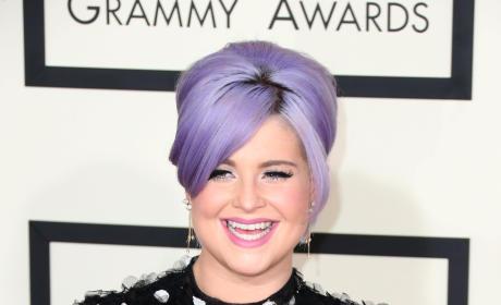 Kelly Osbourne at the 2015 Grammys