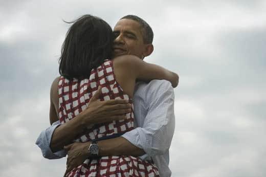 Barack and Michelle Obama Photo