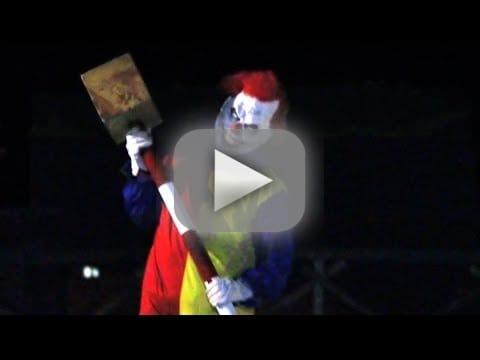 Killer Clown Prank: YIKES!