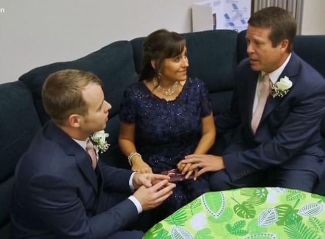 Joseph duggars pre wedding prayer