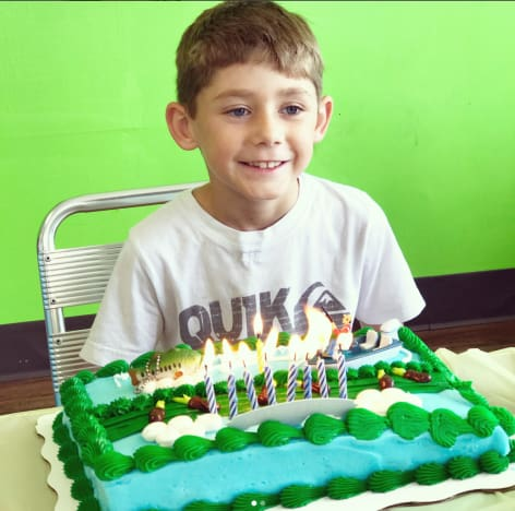 Jace Evans Birtday Photo