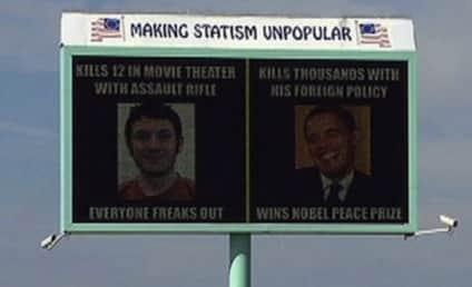 James Holmes-Obama Billboard Sparks Controversy