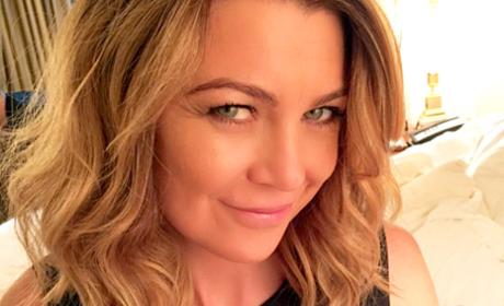 Ellen Pompeo Instgram Selfie