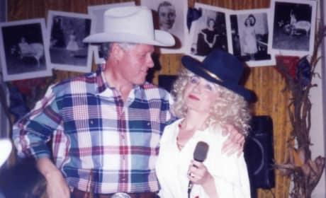 Hillary and Bill Clinton Throwback Photo