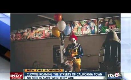 Wasco, California Clowns