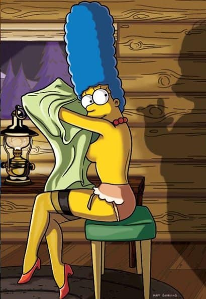 simpson naked