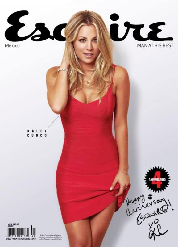 Kaley Cuoco Esquire Cover