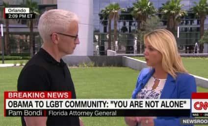 Anderson Cooper Defends Pam Bondi Interview