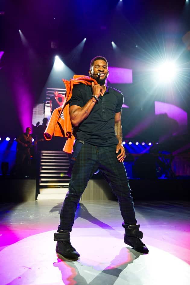 Usher in London