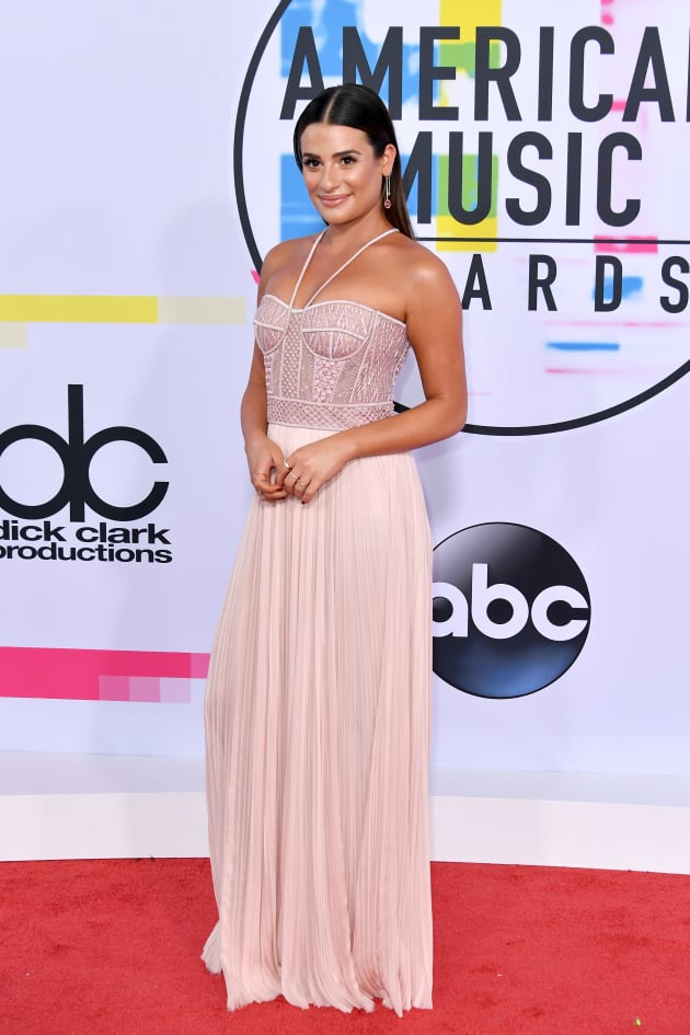 Lea Michele at 2017 AMAs