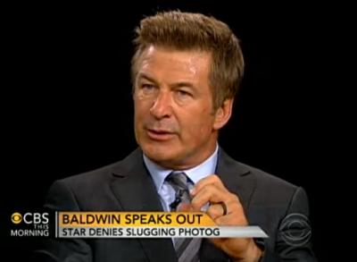 Alec Baldwin on CBS This Morning