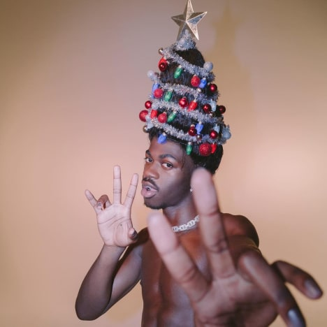 Lil Nas X Has the Holiday Spirit