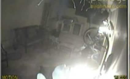 Audrina Patridge Burglary: Caught on Tape!