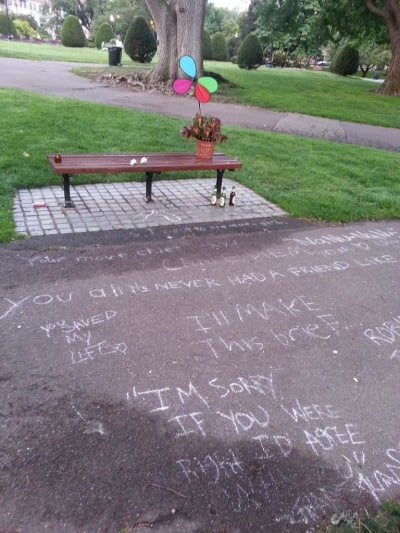 Good Will Hunting Bench