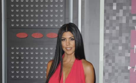Kourtney Kardashian at the VMAs